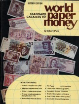 Pick Albert: Standard catalog of world paper money