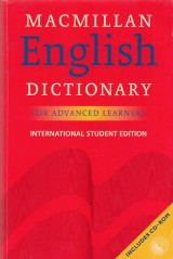 Rundell Michael: Macmillan English dictionary for advanced learnes