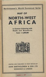 : Map of North-West Africa 1: 4 000 000